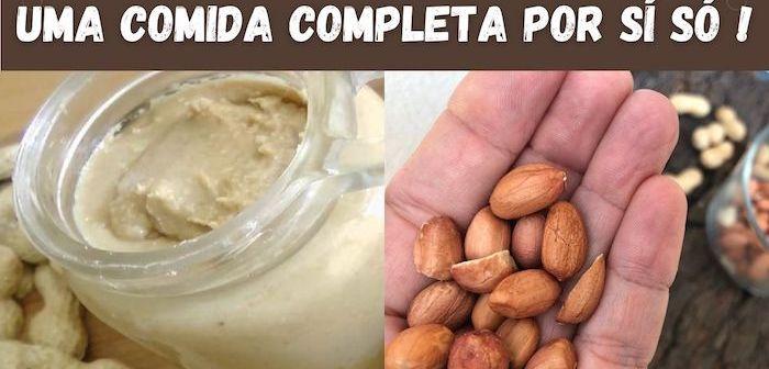 Benefícios incríveis de comer 1 punhado de amendoím todos os dias