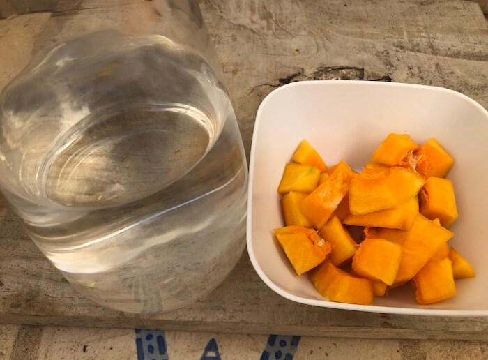 agua+abóbora