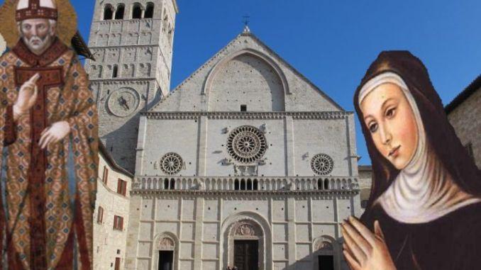 Solennità di Santa Chiara e San Rufino, patrono della Città di Assisi