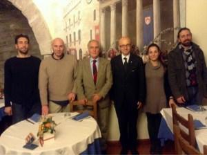 Paolo Scilipoti con Claudio Ricci