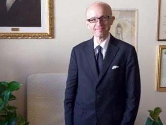 Luigi Marini, saluta e ringrazia Claudio Ricci