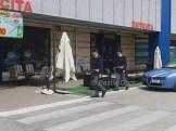 Polizia davanti al Maury's a Bastiola (2)