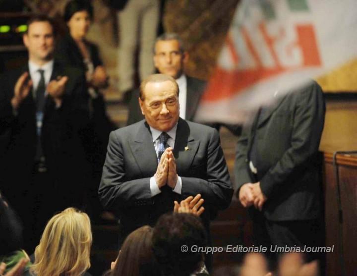 Silvio BERLUSCONI ad Assisi (21)