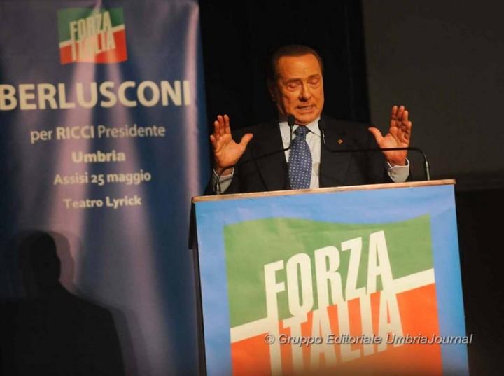 Silvio BERLUSCONI ad Assisi (24)