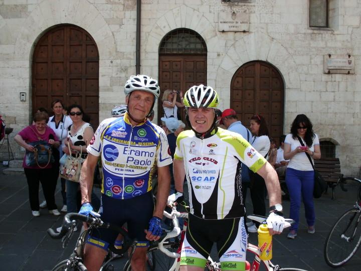 I capitani Adriano Eramo e Gaetano Castellani
