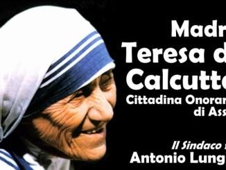Madre Teresa di Calcutta verrà ricordata ad Assisi