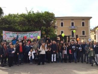 Antenna Via del Caminaccio, adulti e bambini dicono NO!