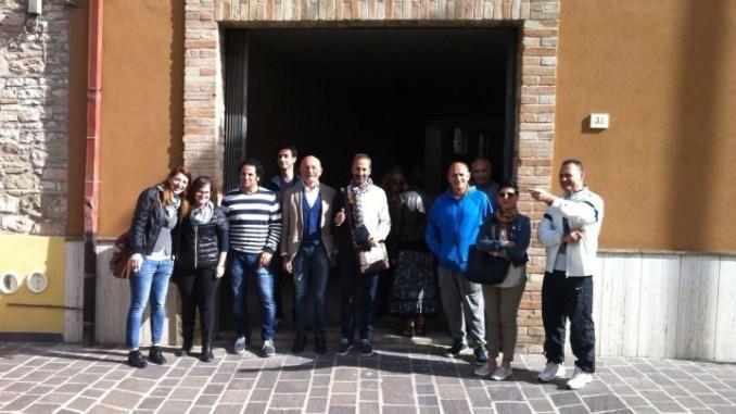 I Rioni de j'Angeli presentano la loro nuova sede di via Becchetti