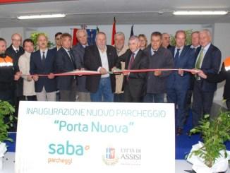 Inaugurato il nuovo parcheggio di Porta Nuova ad Assisi