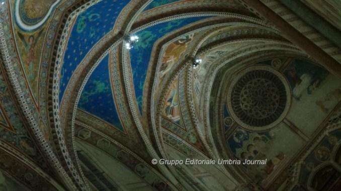 Illuminazione a Led per gli affreschi di Giotto e Cimabue ad Assisi