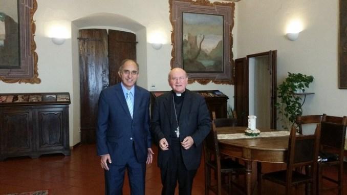 Ambasciatore d'Israele presso la Santa Sede in Assisi