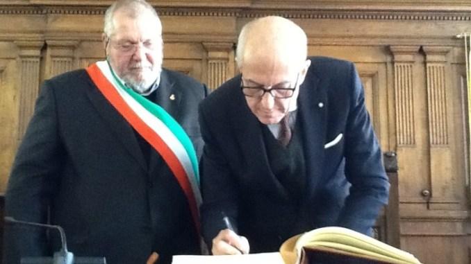 Commissario Straordinario di Roma Capitale Francesco Paolo Tronca ad Assisi