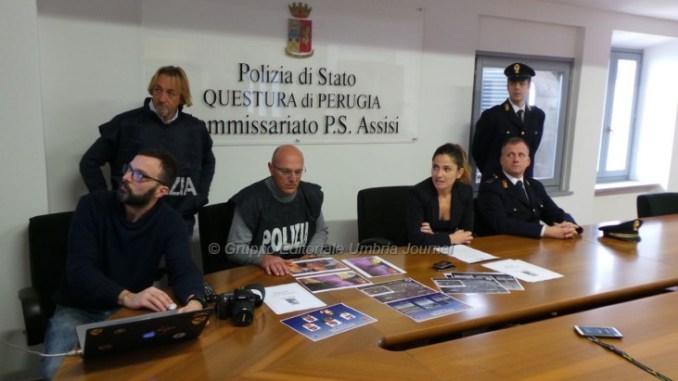 Banda di rapinatori romeni smantellata da polizia Assisi