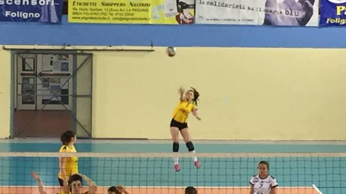 Castello pallavolo batte Volley 86 Petrignano di Assisi Città di Castello vince una gara che in itinere si è dimostrata molto più difficile del previsto