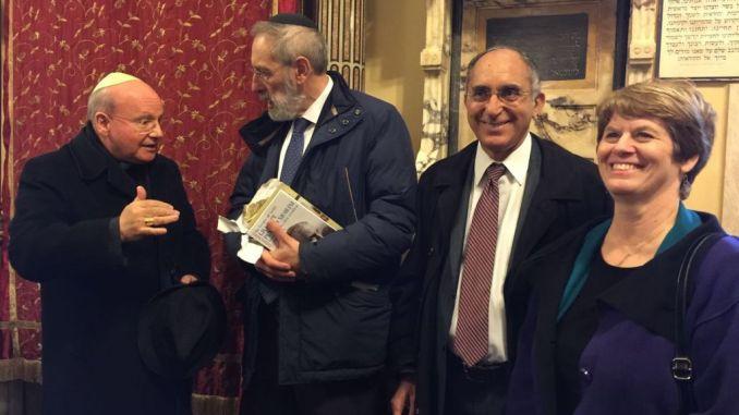 Assisi e la comunità ebraica di Roma più vicine