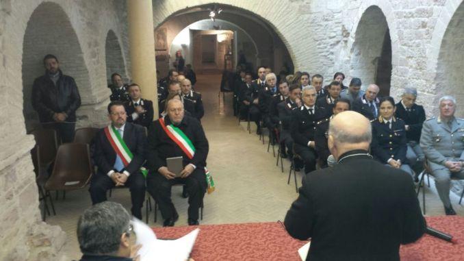 Cattedrale Assisi accoglie le Forze Armate