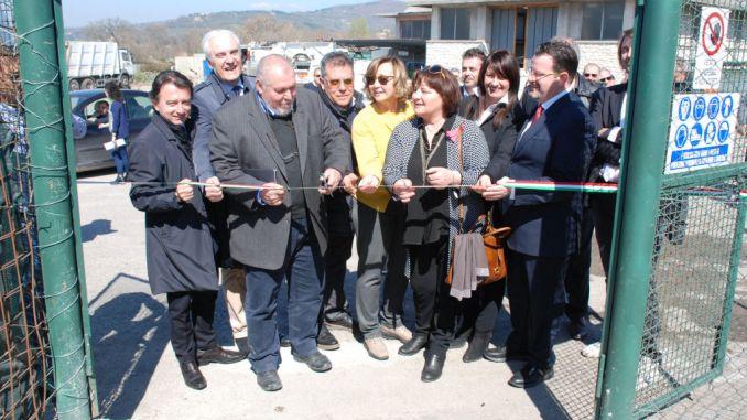 Assisi, inaugurato nuovo impianto di depurazione