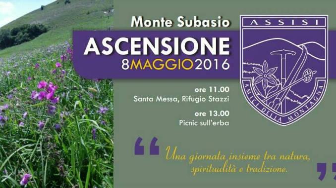 Ascensione al Subasio con gli Amici della Montagna di Assisi