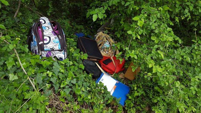 Clamorosa scoperta a Sterpeto, trovate borse e documenti