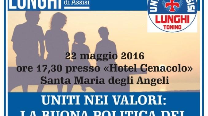 Uniti nei valori, convegno ad Assisi