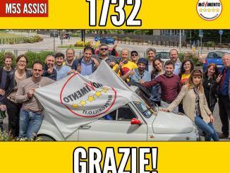 Movimento 5 Stelle ringrazia cittadini e prepara l'opposizione