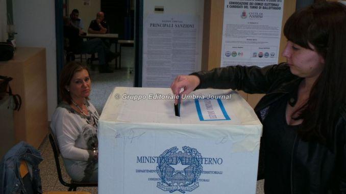 Ballottaggio Assisi, ha votato quasi il 60 per cento