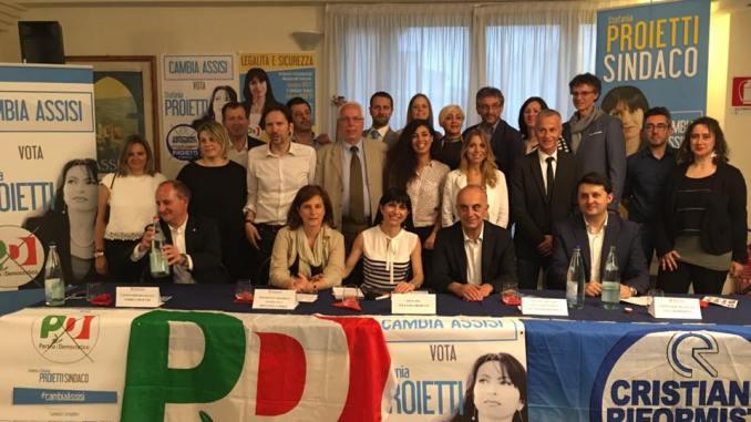 """Ballottaggio Assisi, Bartolini: """"Pd di Proietti rappresenta valori cristiani?"""""""