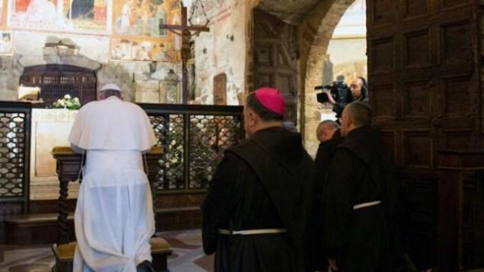 Papa Francesco ad Assisi, Sindaco Proietti, città esulta e ringrazia