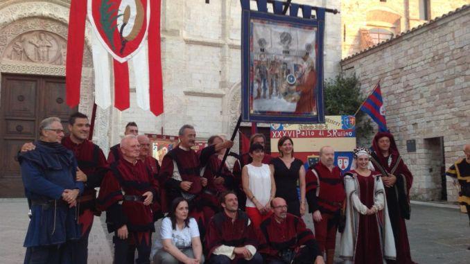 Ad Assisi il Terziere San Rufino vince il Palio 2016
