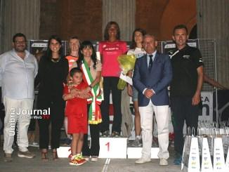 Marcia delle Otto Porte, Assisi, Roqti ha vinto con il tempo di 24.53
