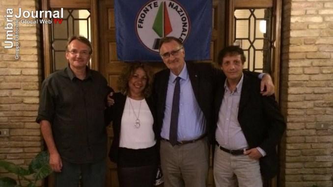 Adriano Tilgher Presidente del Fronte Nazionale ad Assisi, No al referendum