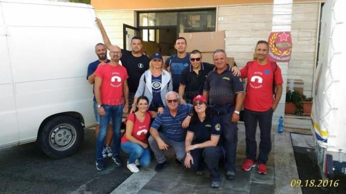 Rioni de j'Angeli, Moncioveta e ADAlex uniti per terremotati Centro Italia