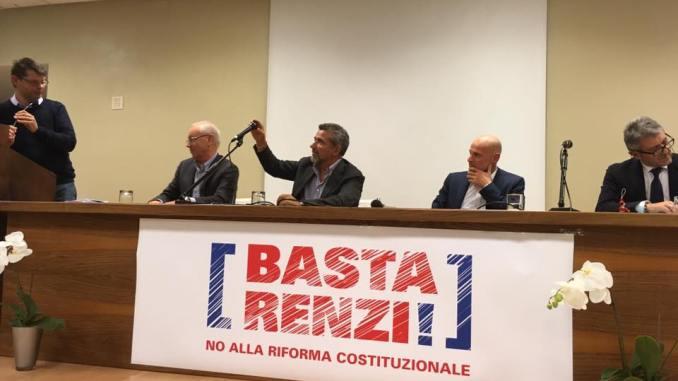 """Comitato per il No """"Basta Renzi!"""", tanti esponenti politici intervenuti ad Assisi"""