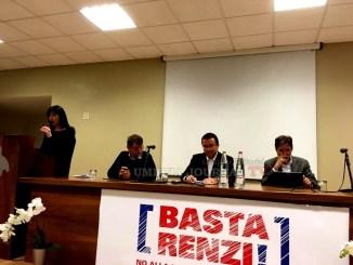 Basta Renzi, ad Assisi, successo per incontro pubblico comitato per il NO