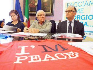 Marcia della Pace Perugia-Assisi, presentato l'evento, domenica il grande giorno