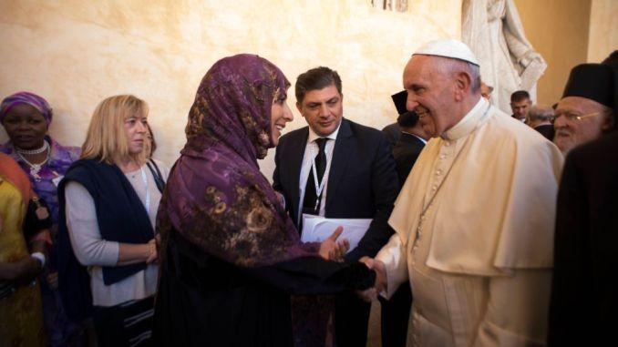 Giornata nazionale migranti, segno della Città di Assisi