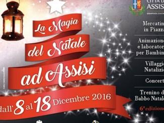 Mercatini di Natale ad Assisi organizzata da Assicity, si può scaricare bando