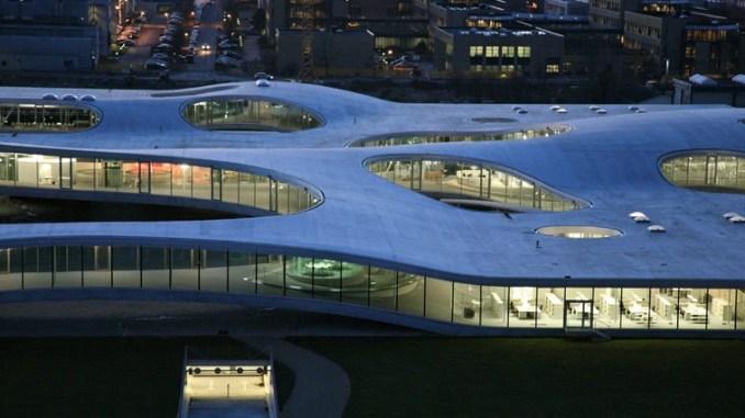 Onirica Assisi 2054, sesta puntata, la Nuova Architettura: Pincio Bibliothek