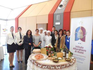 Istituto Alberghiero Assisi a convegno al Ministero Istruzione e Unesco
