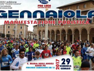 Oggi è il giorno della Gennaiola, la maratonina a Santa Maria degli Angeli