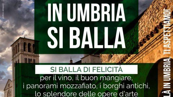 In Umbria si balla e non si trema, altra campagna contro il terremoto