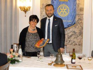 """Rotary Club Assisi Premio """"Ideale Rotariano 2017"""" a Paola Mercurelli Salari"""