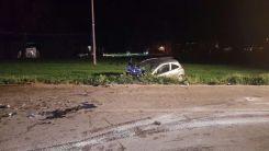 Incidente a Torchiagina, scontro tra due auto, tutti feriti