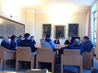 Assisi, incontro delegazione lavoratori Colussi e Amministrazione
