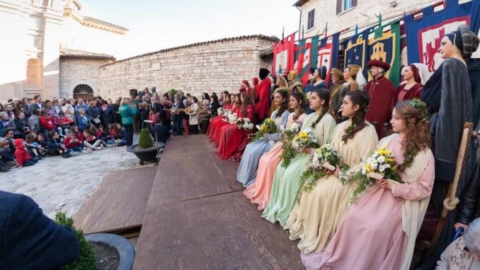 Calendimaggio di Assisi, domani la consegna delle chiavi
