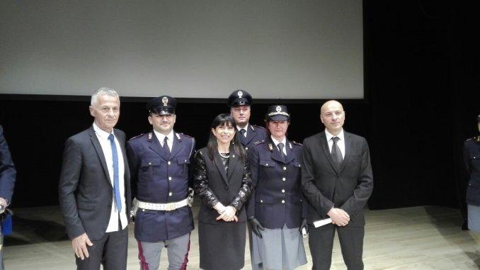 Proietti e Stoppini alla celebrazione del 165° Anniversario della Fondazione della Polizia