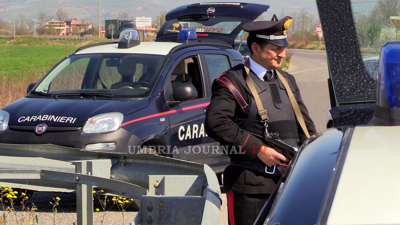 Multe e denunce durante imponente controllo dei Carabinieri di Assisi