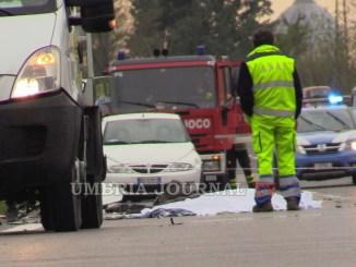 Assisi, incidente mortale, scende dall'auto e viene travolto, muore 90enne [AGGIORNAMENTO]