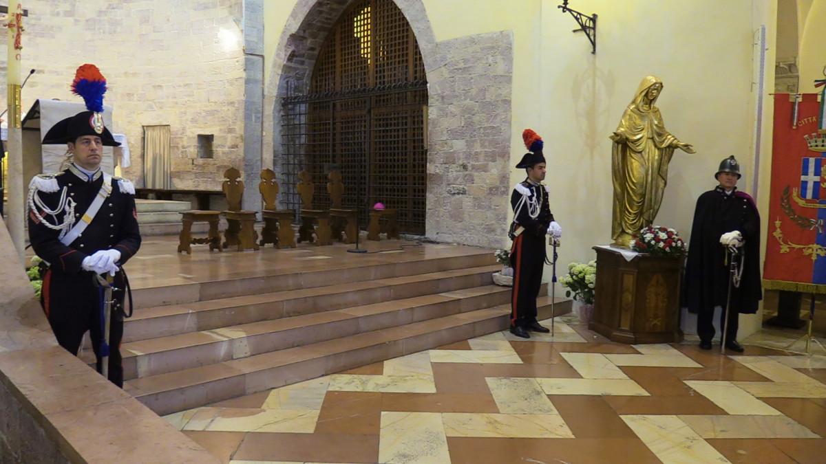SORRENTINO CHIESA SANTA MARIA MAGGIORE SANTUARIO SPOGLIAZIONE (5)