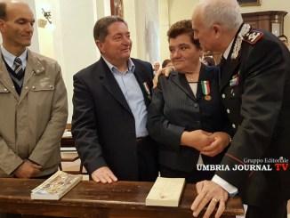 Ricordo Renzo Rosati, Comandante, Tullio Del Sette, Umbria ha dato il sangue dei suoi Carabinieri